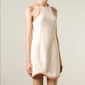 3.1 Phillip Lim Orange Cut in Freeform dress